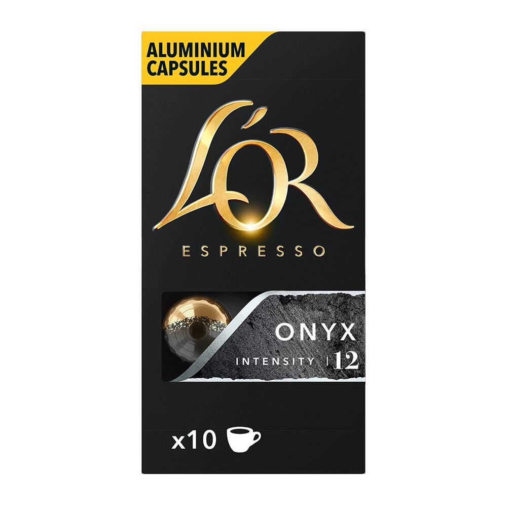 L'OR Espresso - koffiecups nespresso compatible - Onyx