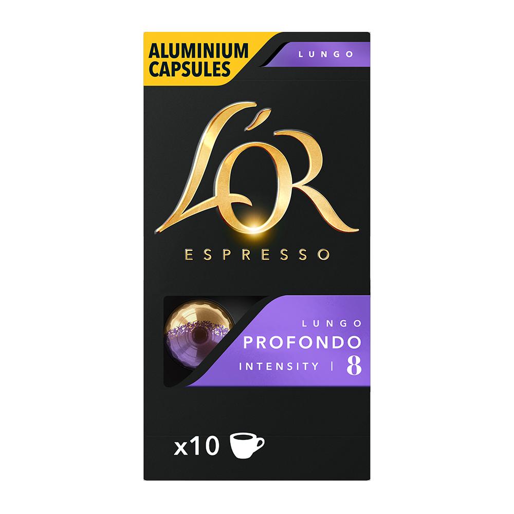 L'OR Espresso - koffiecups nespresso compatible - Lungo Profondo