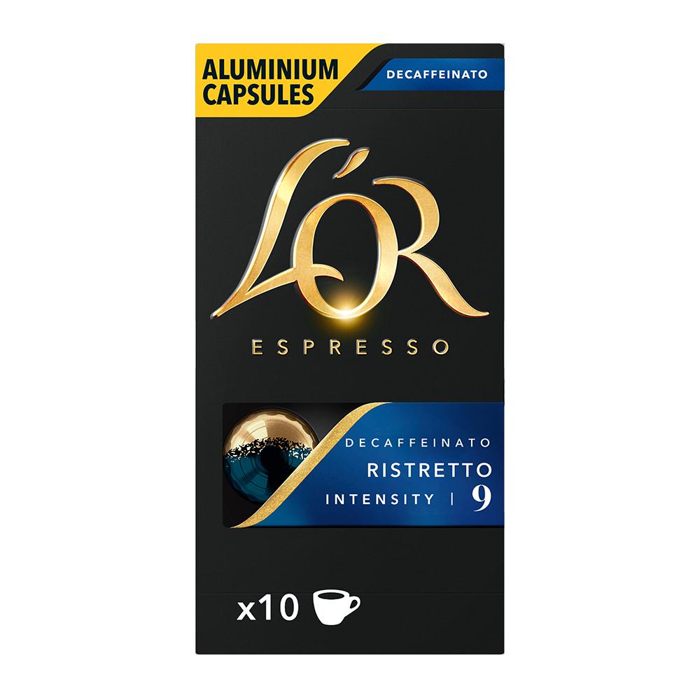 L'OR Espresso - koffiecups nespresso compatible - Ristretto Decaffeinato