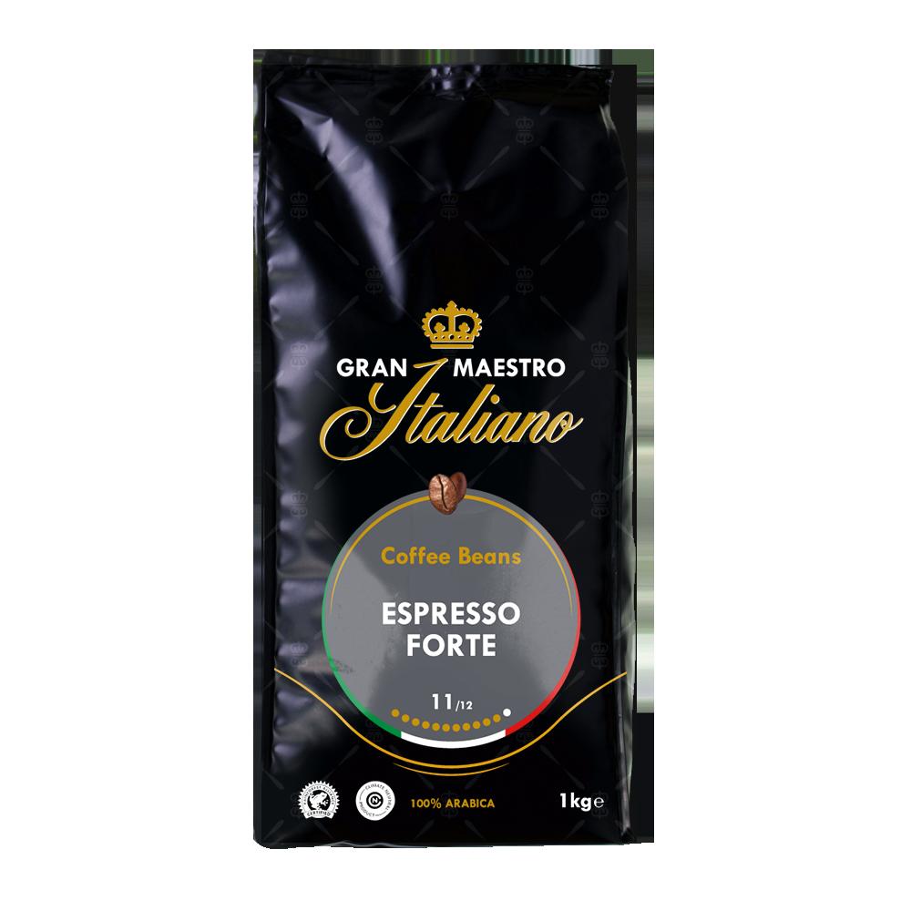 Gran Maestro Italiano - koffiebonen - Espresso Forte