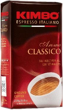 Kimbo - gemalen koffie - Aroma Classico