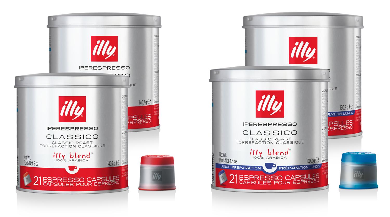 Het cadeau voor de illy X7.1 Iperespresso bestaat uit: 84 capsules
