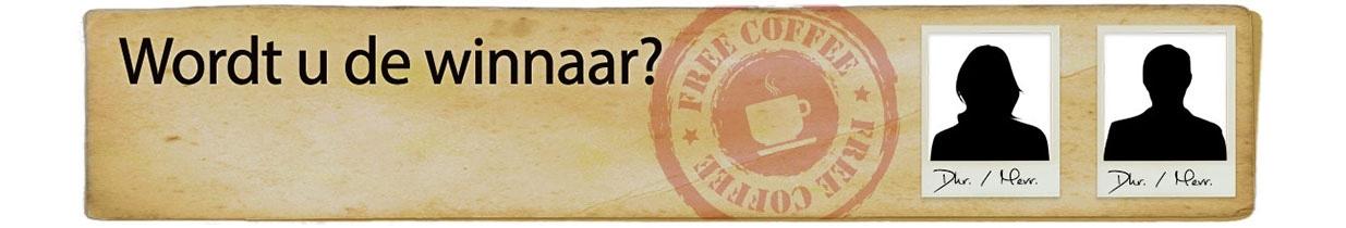 Win een jaar lang gratis koffie bij Koffievoordeel