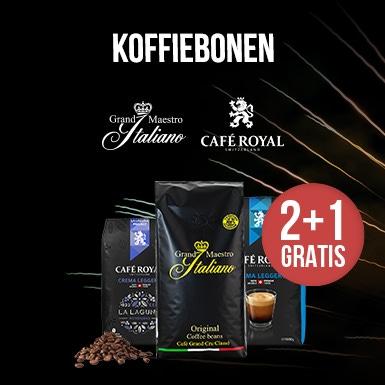 2+1 GRATIS koffiebonen