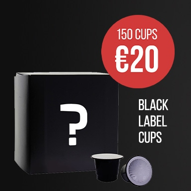 Black Label nespresso capsules
