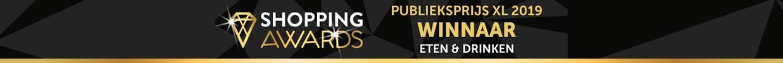 Winnaar Thuiswinkel Shopping Awards 2019 - Publieksprijs XL Eten & Drinken