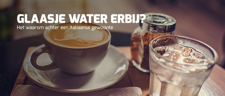 illy blog - water bij de koffie