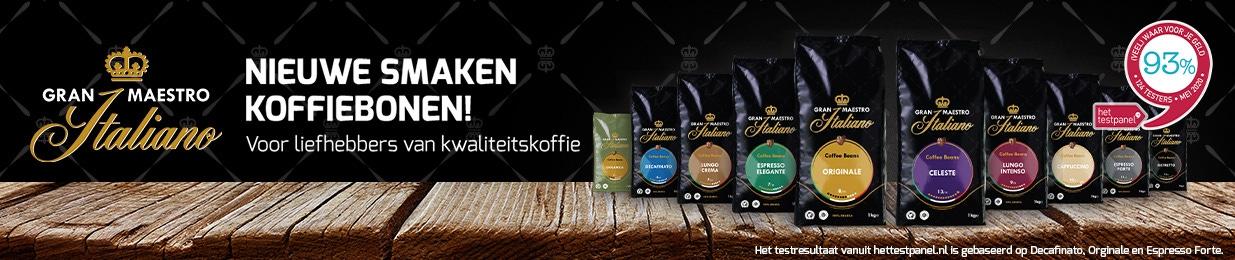 Koffiebonen van Gran Maestro Italiano!