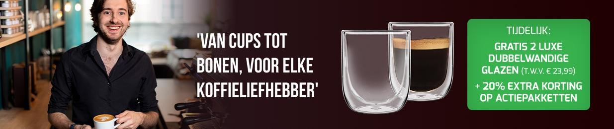 Celeste d'Oro - Ontvang gratis 2 luxe dubbelwandige glazen EN 20% EXTRA korting op actiepakketten!