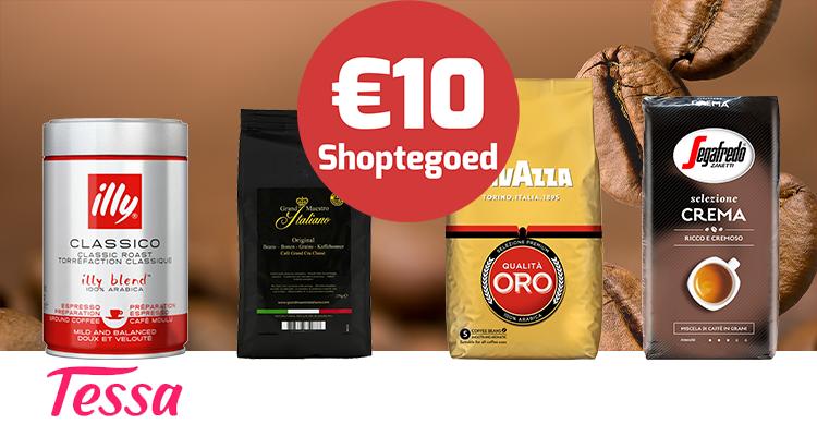 Lever je Tessa punten in en ontvang 10 euro korting!