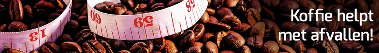 Koffie is gezond én helpt met afvallen!